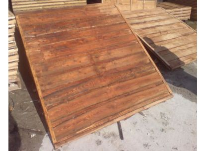 Heavy Duty Waneylap Fence Panel